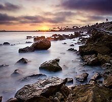 Corona Del Mar Best Sunset by jswolfphoto