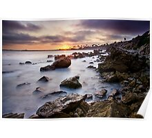 Corona Del Mar Best Sunset Poster