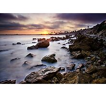 Corona Del Mar Best Sunset Photographic Print