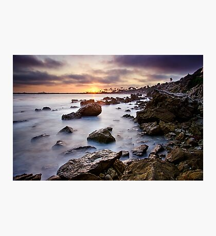 Corona Del Mar Best Sunset Photographic Print
