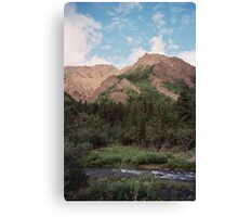 Igloo Mountain Canvas Print