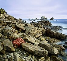Red Brick Shore by jswolfphoto