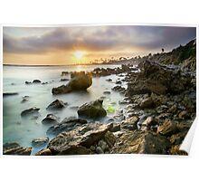 Sunset Cali Poster