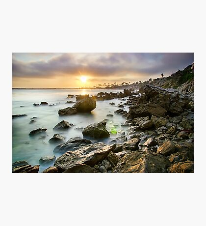 Sunset Cali Photographic Print
