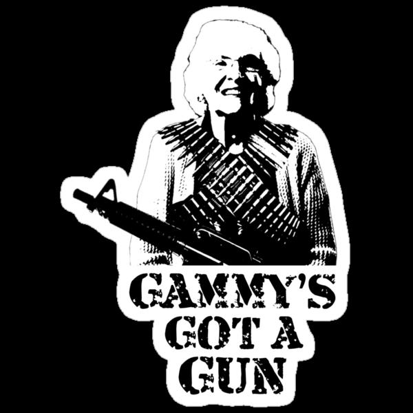 Gammy's Got A Gun by AlyssaSbisa