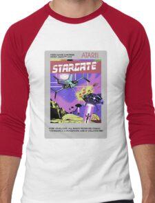 8bit Stargate Cartridge Men's Baseball ¾ T-Shirt