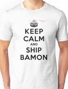 Keep Calm and SHIP Bamon (Vampire Diaries) LS Unisex T-Shirt