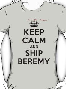 Keep Calm and SHIP Beremy (Vampire Diaries) LS T-Shirt