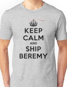 Keep Calm and SHIP Beremy (Vampire Diaries) LS Unisex T-Shirt