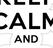 Keep Calm and SHIP Beremy (Vampire Diaries) LS Sticker