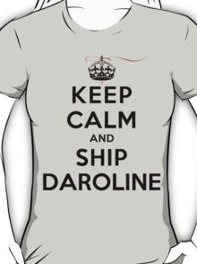 Keep Calm and SHIP Daroline (Vampire Diaries) LS T-Shirt