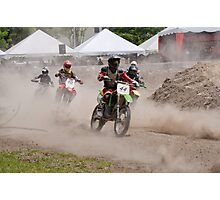 motocross Photographic Print