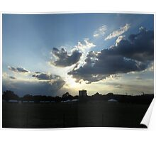 Sunset over Washington DC (2012) Poster