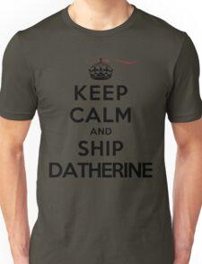 Keep Calm and SHIP Datherine (Vampire Diaries) LS Unisex T-Shirt