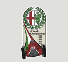 Alfa Romeo - 5 World Championships by aussie105