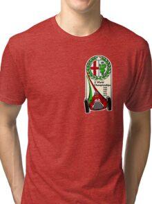 Alfa Romeo - 5 World Championships Tri-blend T-Shirt