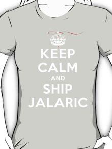 Keep Calm and SHIP Jalaric (Vampire Diaries) DS T-Shirt