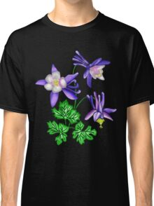 Columbine Flower - Colorado's State Flower Classic T-Shirt