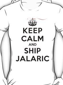 Keep Calm and SHIP Jalaric (Vampire Diaries) LS T-Shirt