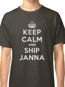 Keep Calm and SHIP Janna (Vampire Diaries) DS Classic T-Shirt