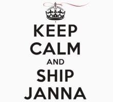 Keep Calm and SHIP Janna (Vampire Diaries) LS by rachaelroyalty
