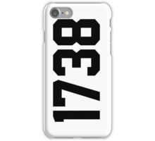 1738 iPhone Case/Skin