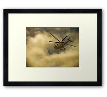 RNAS Culdrose Search and Rescue  Framed Print