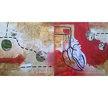 Altered Book 12/2 #9 Photographic Print