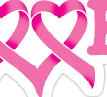 Boobs - Breast Cancer Awareness Sticker