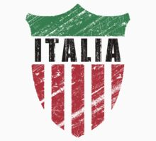 Vintage Italy Emblem by Phil Perkins