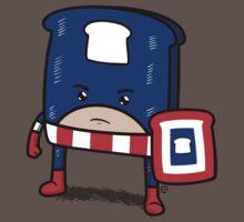 Captain American Bread Baby Tee