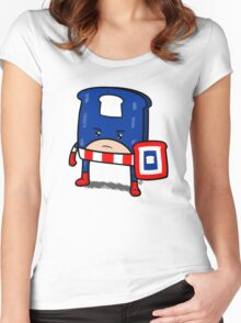 Captain American Bread Women's Fitted Scoop T-Shirt