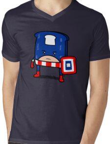 Captain American Bread Mens V-Neck T-Shirt
