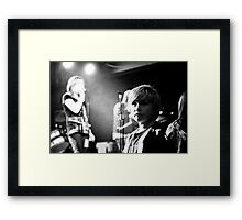 The future of music in Manchester Framed Print