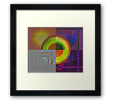 Difference 2 Framed Print