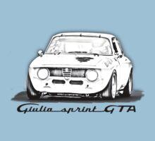 Alfa Romeo Giulia GTA Kids Tee