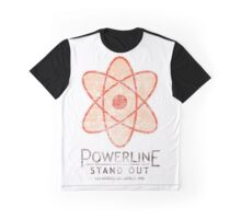 Powerline Stand Out Tour Graphic T-Shirt
