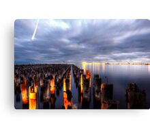 Princes pier Canvas Print