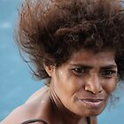 Monica from Papua New Guinea by Jola Martysz