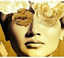 Illuminating Bronzed Baguette Photographic Print