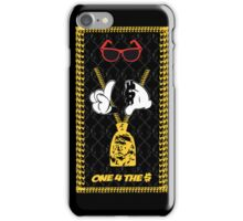 ONE 4 THE MONEY - 'GHOSTY G'  iPhone Case/Skin