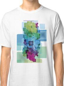 Cool digital block design graphic tee Classic T-Shirt