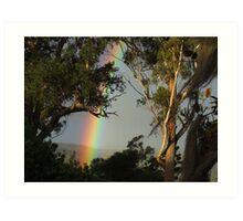 Late Rainbow... Art Print
