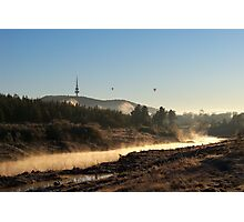 Mist on the Molonglo Photographic Print