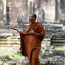 Angkor Wat Monk by KelseyGallery