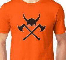 skull viking pirat helmet Unisex T-Shirt