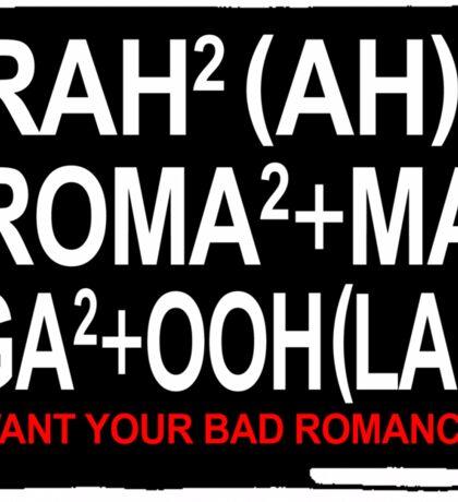 The Gaga Law Sticker