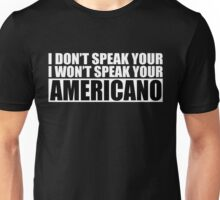 Americano Unisex T-Shirt