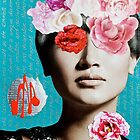 Rose Berry Splash by Vikki-Rae Burns