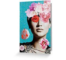 Rose Berry Splash Greeting Card
